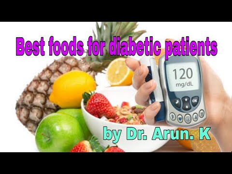 Best food for diabetic patients / food helps controlling sugar level by Dr.Arun kaunder.