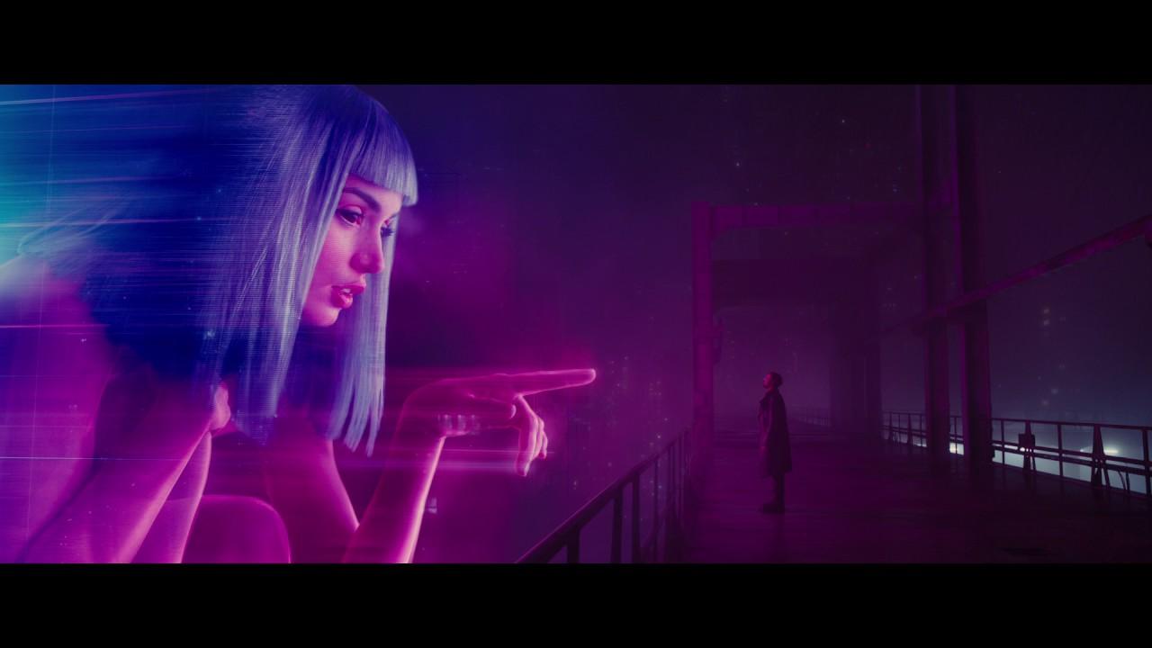 Hologram Girl From Blade Runner 2049 Live Wallpaper Blade Runner 2049 Teaser In Cinemas This October Youtube