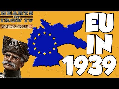 Hearts of Iron 4 HOI4 Waking the Tiger Democratic Germany Forms the EU Challenge