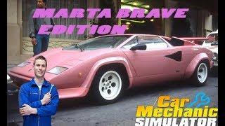 CAR MECHANIC SIMULATOR 2018 #20 LAMBORGHINI COUNTACH 73 MARTA BRAVE EDITION