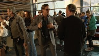 Exclusive: Behind The Scenes Of The Counselor With Brad Pitt And Ridley Scott