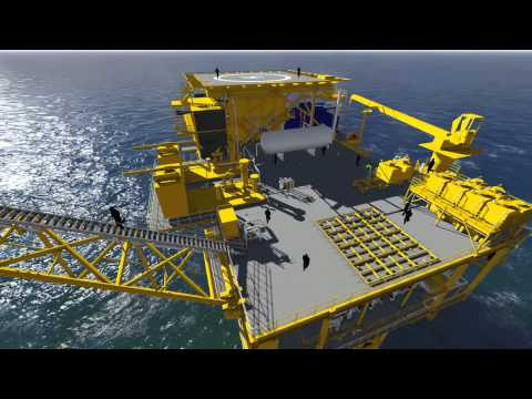 3D Animation of an Offshore Facility in Peninsular Malaysia