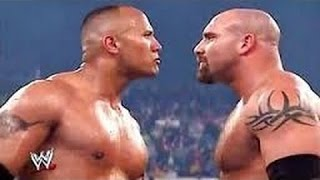 Video Bill Goldberg vs the rock wwe backlash 2003  match : wwe bill goldberg vs rock download MP3, 3GP, MP4, WEBM, AVI, FLV Mei 2018