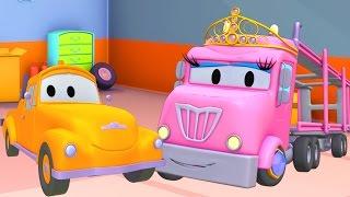متجر طلاء توم شاحنة الجر: فلافي هي الأميرة شارلوت  - رسوم متحركة للشاحانت للصغا
