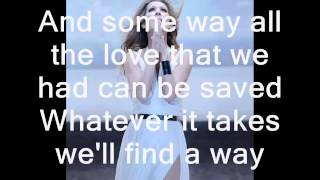 Celine Dion - To Love you More - Lyrics and Pics