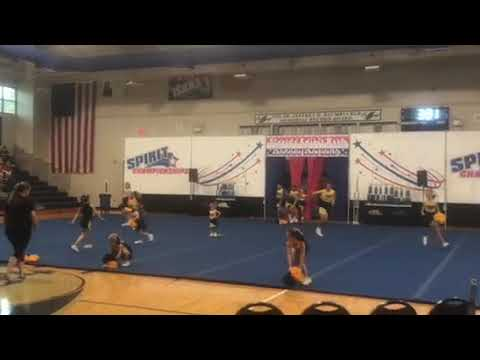 Solid rock community school cheer competition