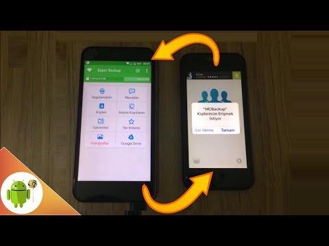 Rehber Aktarma (Hem Android Hem İphone)