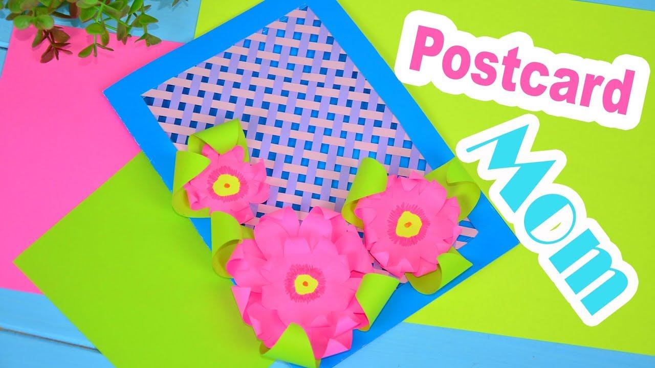 Mother's Day postcard   DIY card ✔ Room Craft