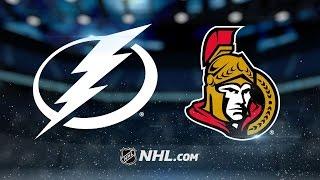 Stone, Pageau lead Senators past Lightning