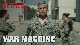 War Machine | Trailer 2  Hd  | Netflix