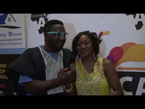 Africa Alive Inteviews Comedian Mc-Mark Host African Film Awards 2016