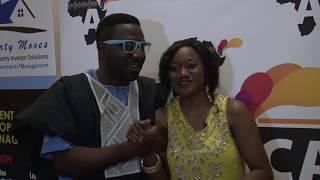 Africa Alive Inteviews Comedian Mc-Mark Host African Film Awards 2016