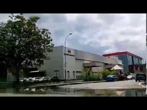 Take a tour around Bayan Free Trade Zone, Penang, Malaysia.