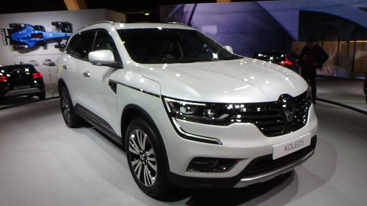 2017 renault koleos initiale paris auto show brussels 2017 youtube. Black Bedroom Furniture Sets. Home Design Ideas