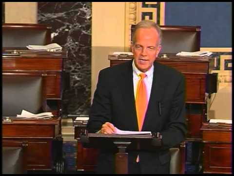 Sen. Jerry Moran speaks out against the unjust