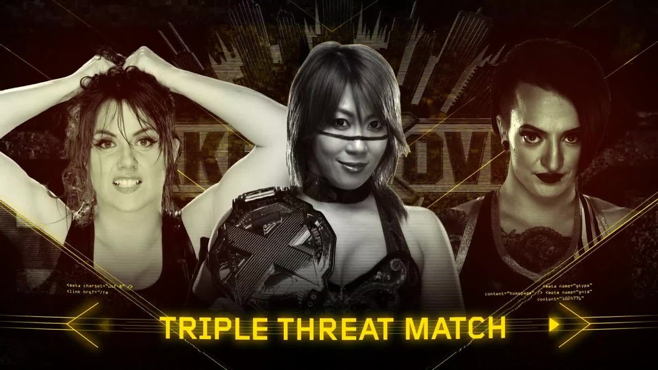 Promo: Asuka Vs. Ruby Riot Vs. Nikki Cross For The NXT Women's Championship  At At TakeOver: Chicago - Wrestling Inc.