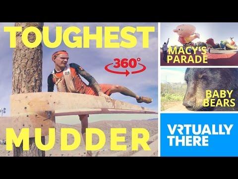 Macy's Thanksgiving Parade prep in VR, World's Toughest Mudder