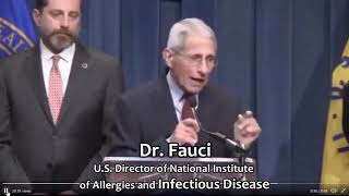 Dr. Fauci - Asymptomatic NOT driver of epidemics
