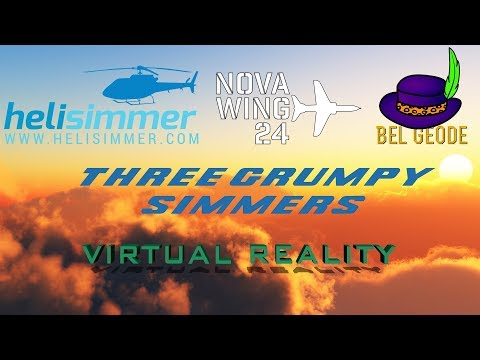 Three Grumpy Simmers - Virtual Reality and Community Engagement