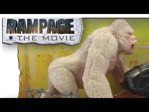 Rampage Movie Toys Photos Youtube