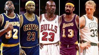 NBA TARİHİNİN EN İYİ 10 TAKIMI