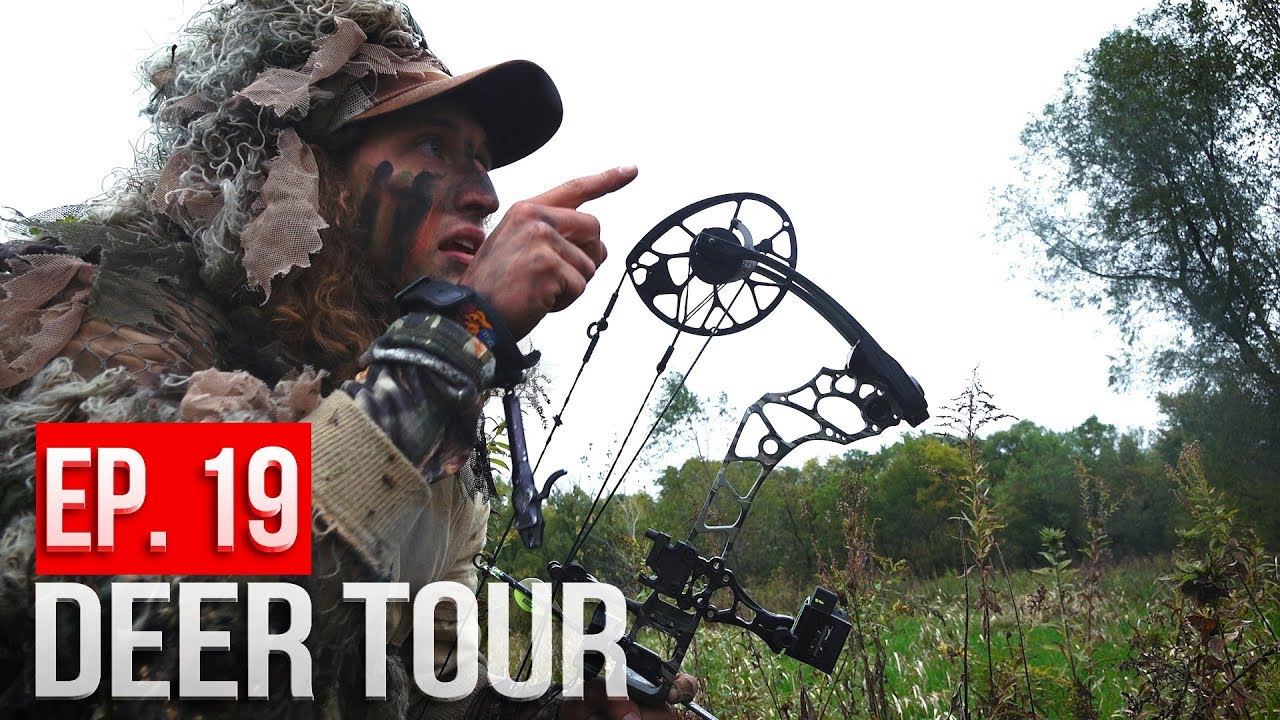 a35e77c21a4f10 Buck Nest Sneak, Bowhunting in the Rain - DEER TOUR E19 - YouTube