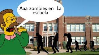 Como sobrevivir a un apocalipsis zombie en la escuela