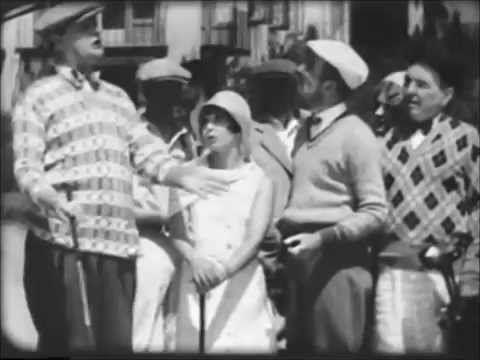 Mack Sennett's The Golfers ~ Andy Clyde Thelma Hill