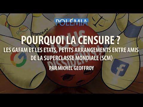"""Michel Geoffroy : """"Pourquoi la censure ?"""" (Forum de la Dissidence 2018)"""