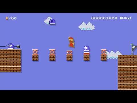 スイッチランド(Switchland) by ひが - Super Mario Maker - No Commentary