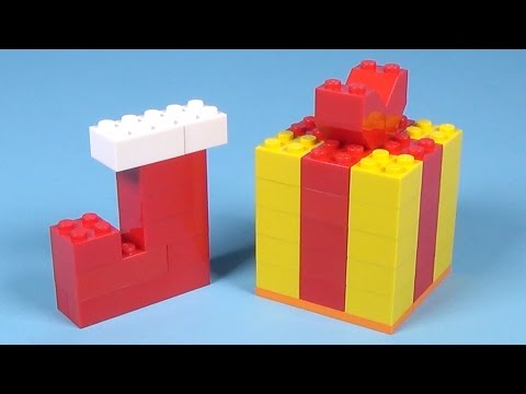 How To Build Lego CHRISTMAS GIFT & STOCKING - 4630 LEGO® Build & Play Box Building Instructions