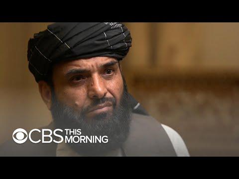 Taliban's top spokesman insists Al Qaeda wasn't behind 9/11
