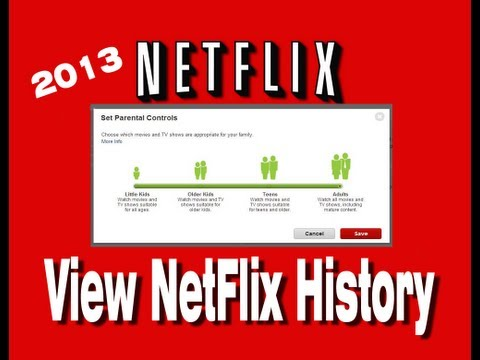 How To View Your Netflix History  A Different Approach to Netflix Parental Controls