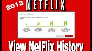 How To View Your Netflix History - A Different Approach to Netflix Parental Controls