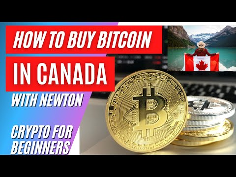 How To Buy Bitcoins In Canada With Newton