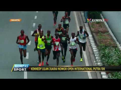 Pelari Kenya Juarai Lomba Lari Internasional 10 Km