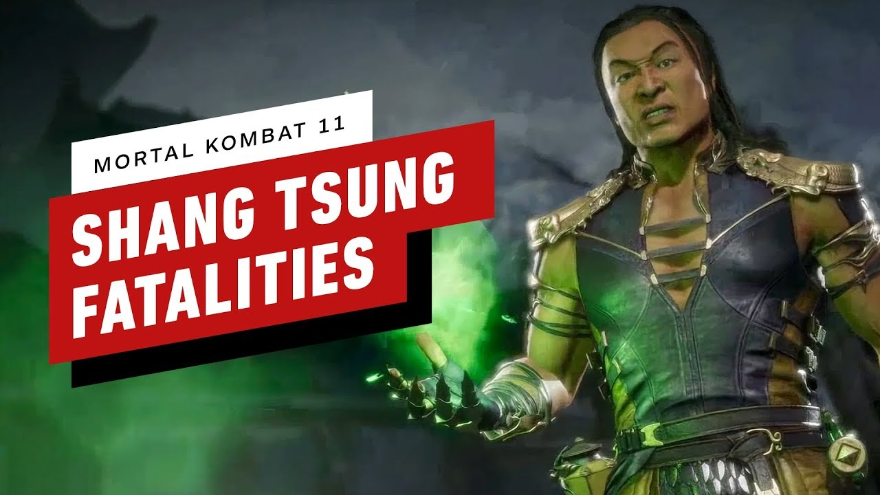 Shang Tsung Fatalities: How To Perform Mortal Kombat 11 DLC