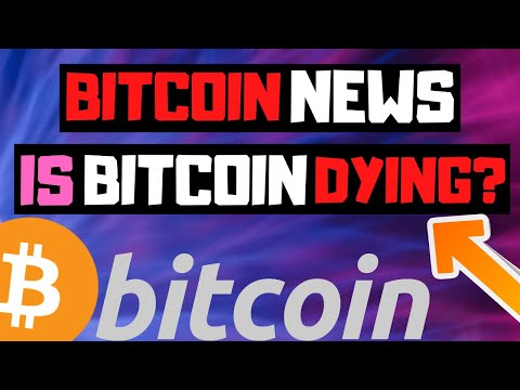 "Bitcoin Is Dying?!?! | Bitcoin (BTC) Huge News!! ""Cryptocurrency"""