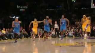 NBA 2012 Playoff OKC Thunder vs LA Lakers - Game 4 (Round 2)