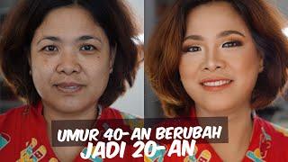 Download Video Tutorial Makeup Awet Muda Pakai Makeup Drugstore | Makeover Ibu-ibu 40 Tahun jadi 20 tahun MP3 3GP MP4