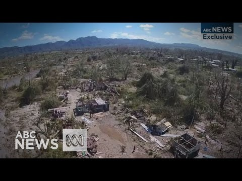 Drone footage shows Cyclone Pam's destruction in Port Vila
