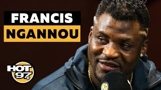 UFC Heavyweight Francis Ngannou Shares His Impressive Journey