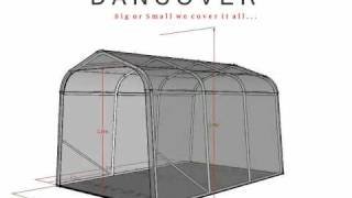 Portable Garage Shelter Size 2.4x3.6x2.4