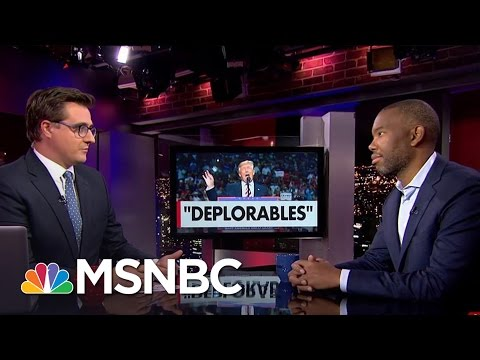 "Ta-Nehisi Coates talks to MSNBC about Hillary Clinton 's ""basket of deplorables"" comment."