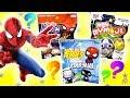 BRINQUEDOS SURPRESA DO HOMEM ARANHA E MARVEL! Spider Man Homecoming Pint Size Heroes e Marvel Mymoji