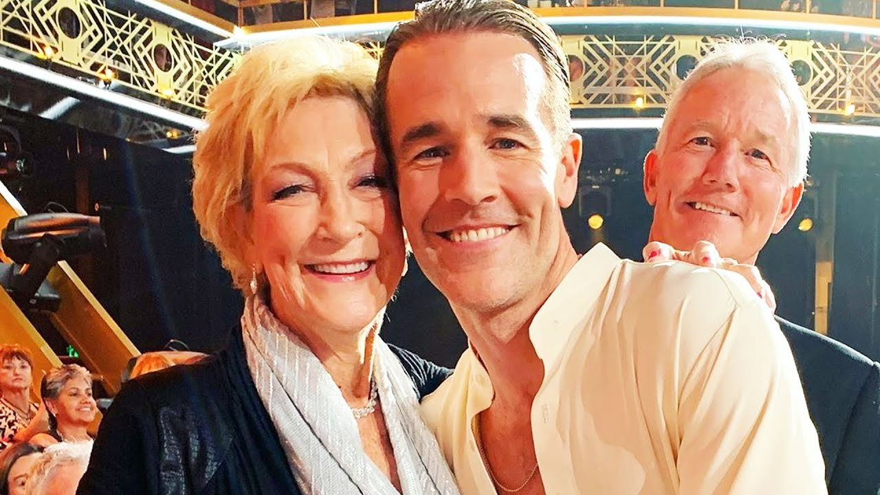 James Van Der Beek Mourns Mom's Death