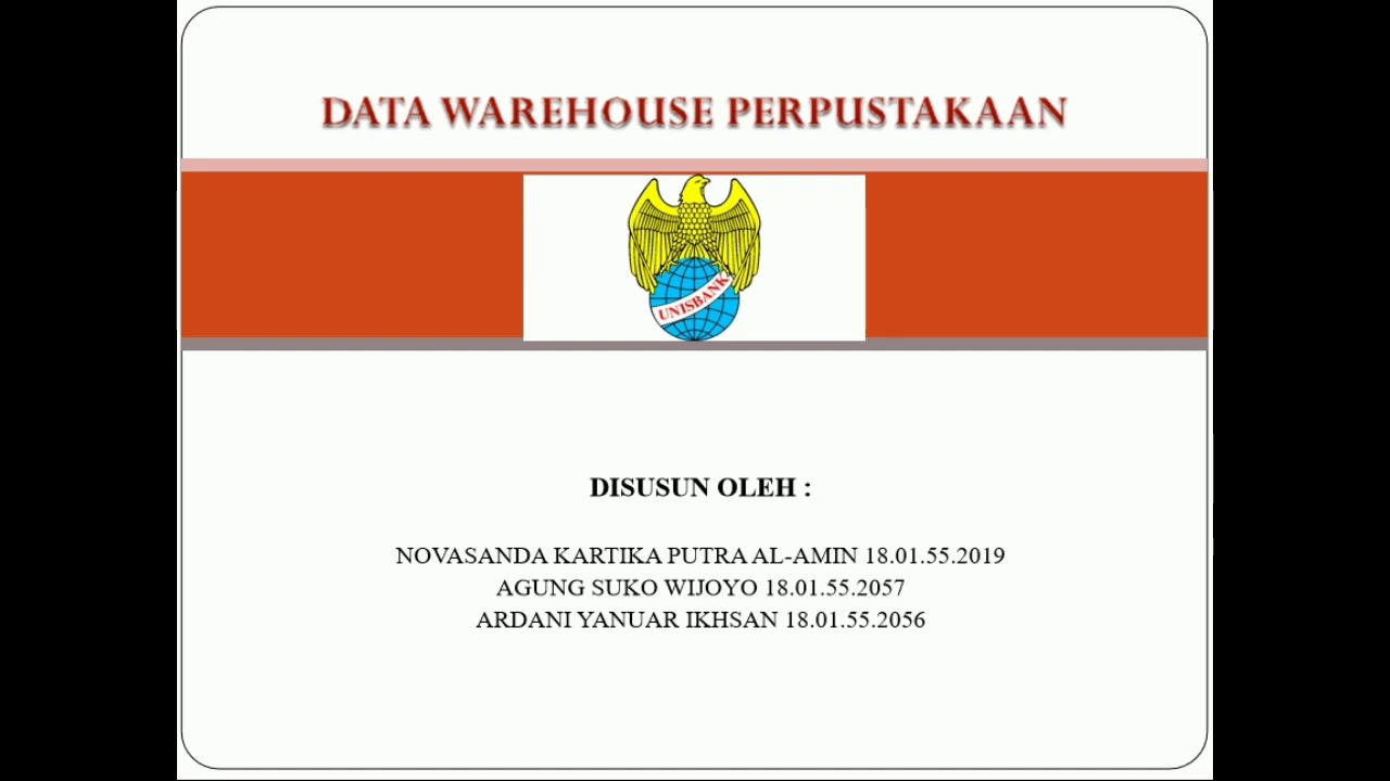 Presentasi Jurnal Data Warehouse Perpustakaan Youtube
