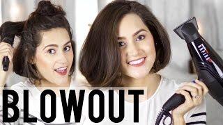 How To: Voluminous Blowout Hair Tutorial