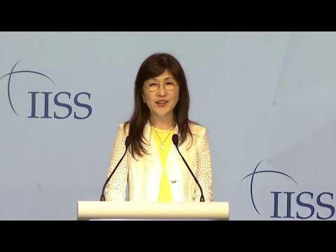 IISS Shangri-La Dialogue 2017: Tomomi Inada