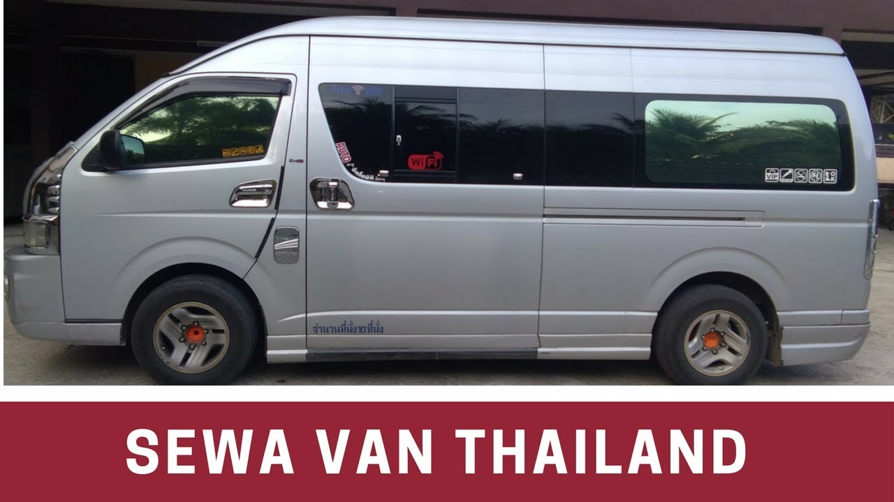 41044957ca0fc8 Sewa Van Ke Hatyai   Krabi Thailand - YouTube